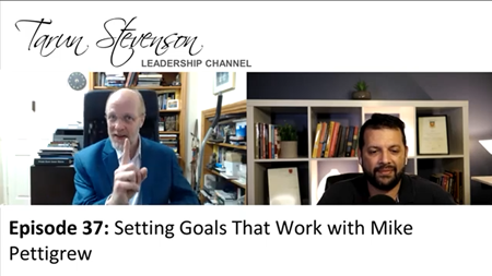 Mike Pettigrew is Interviewed by Tarun Stevenson of The Leadership Channel