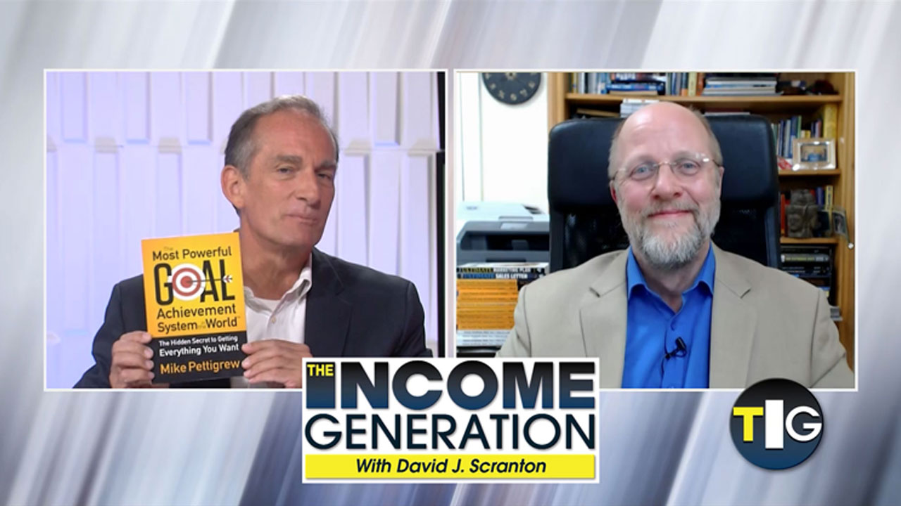 David J Scranton interviews Mike Pettigrew on The Income Generation Show