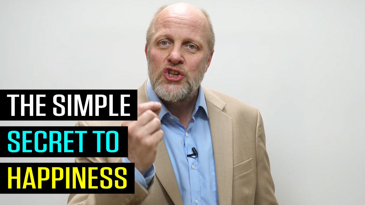 The Simple Secret to Happiness