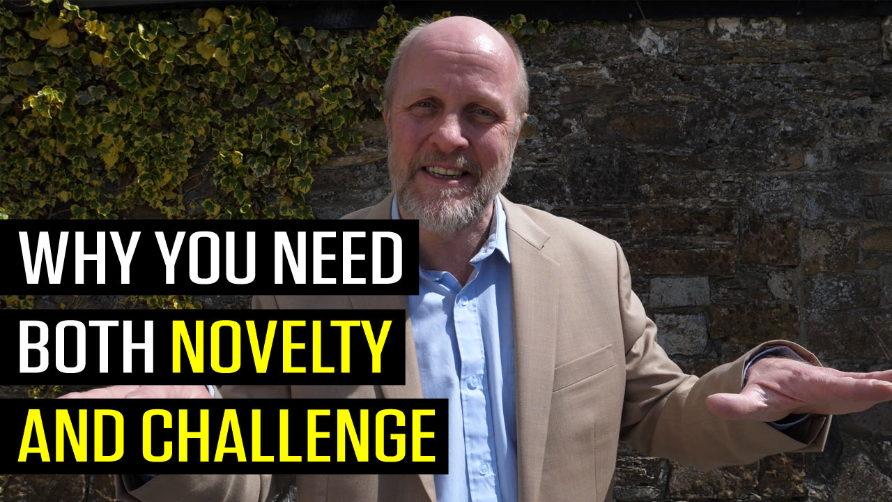 Why You Need Both Novelty and Challenge