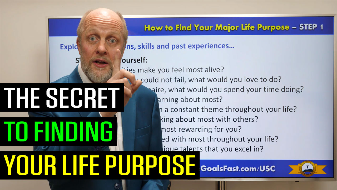 The Secret to Finding Your Life Purpose